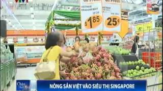 Vietnam Farm Produce Enters Singapore Market