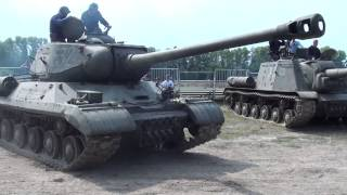 "ИС-2 & ИСУ-152  (""Поле Боя"" 2015)"