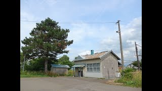【JR北海道 札沼線】晩生内駅の風景  Osokinai station in Hokkaido Japan.