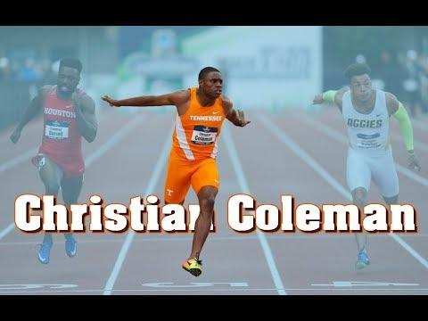 Christian Coleman ● 2017/2018 - Sprinting Montage
