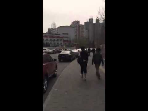 FROM THE ARCHIVES: Walking home in Beijing, China 🇺🇸🇨🇳😎