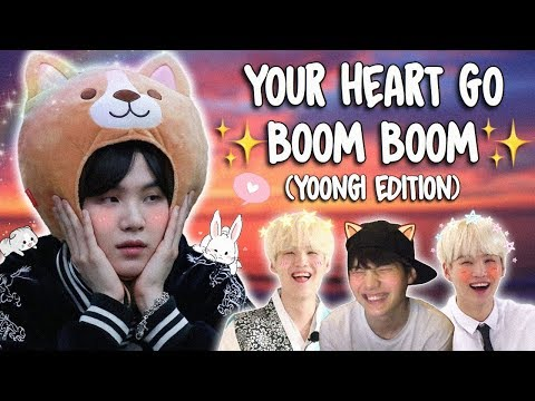 a video of yoongi to make your heart go boom boom