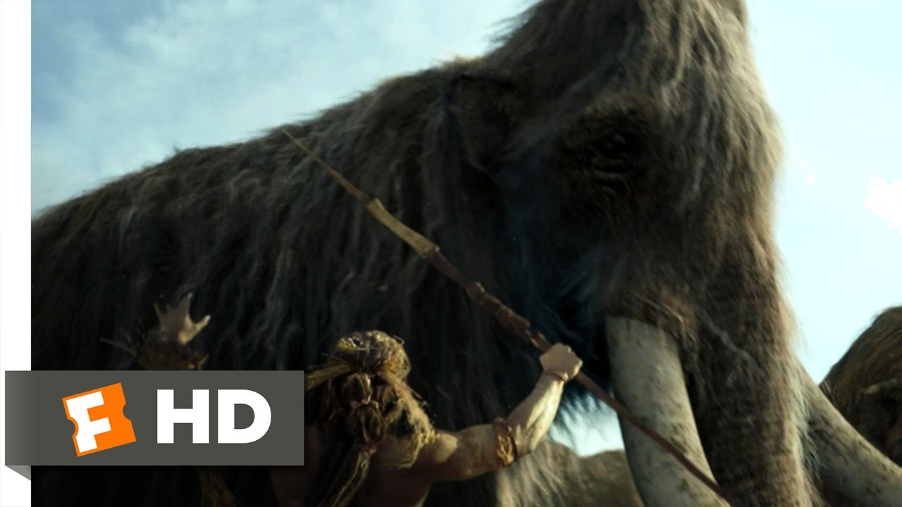 10 000 Bc 1 10 Movie Clip The Mammoth Hunt 2008 Hd Youtube