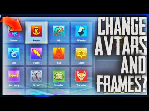 How To Change Profile Picture In Call Of Duty Mobile Change Avtar And Frames In Call Of Duty Youtube