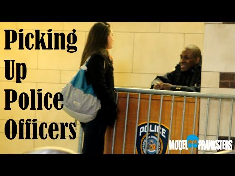Picking Up Police Officers!Getting Their Numbers!