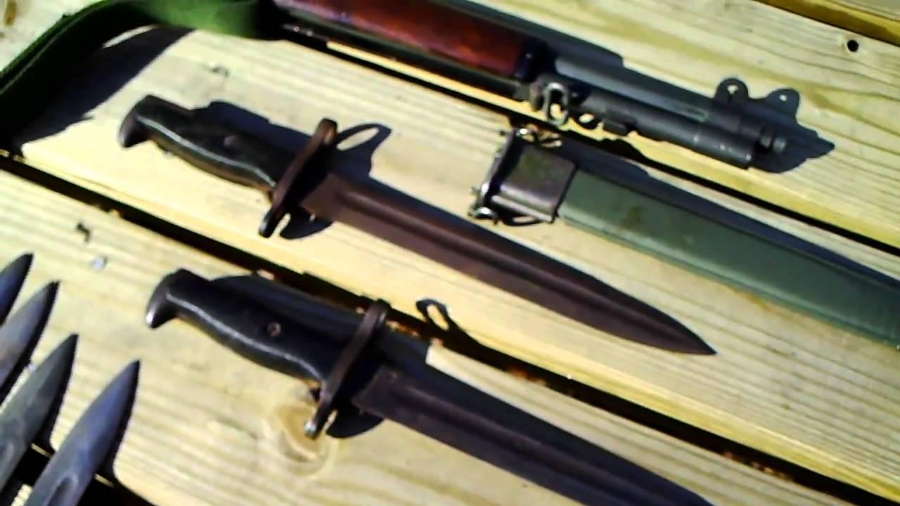 M1 Garand Rifle Bayonets