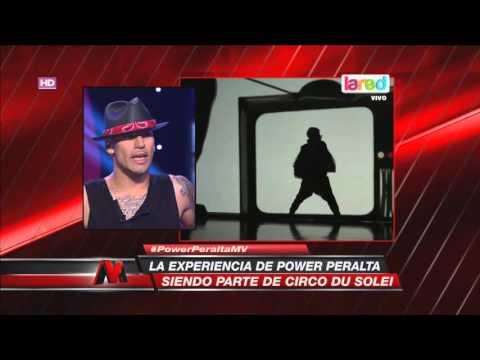 La dura experiencia de Power Peralta en Circo Du Solei
