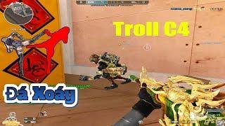 TROLL CF - Nhân Vật VIP Troll ĐÁ XOÁY | Funny Moments In CF | Part 37