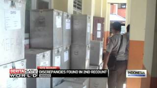 Discrepancies Found in 2nd Recount