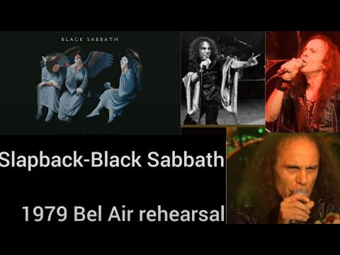 """Previously unreleased Black Sabbath song w/ DIO """"Slapback"""" now posted on line!"""