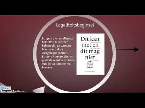 Grondbeginselen van de rechtsstaat