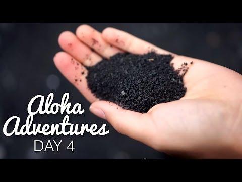 A BLACK SAND BEACH? | Aloha Adventures [Day 4]