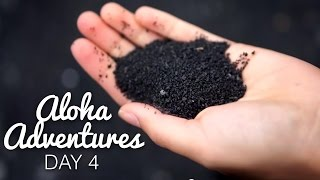 A BLACK SAND BEACH? | Aloha Adventures [Day 4]