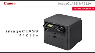 Canon imageCLASS MF232w Feature Video