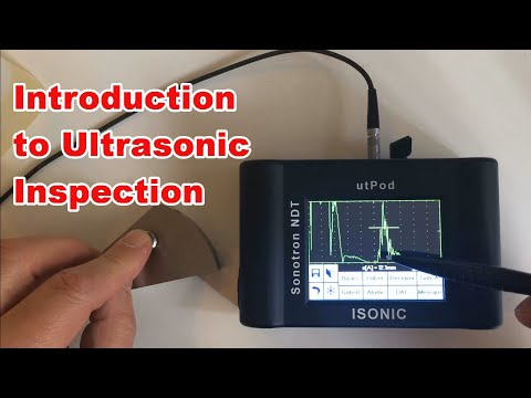 Practical Guide - Ultrasonic Inspection And Ultrasonic Testing - NDT - Material Testing