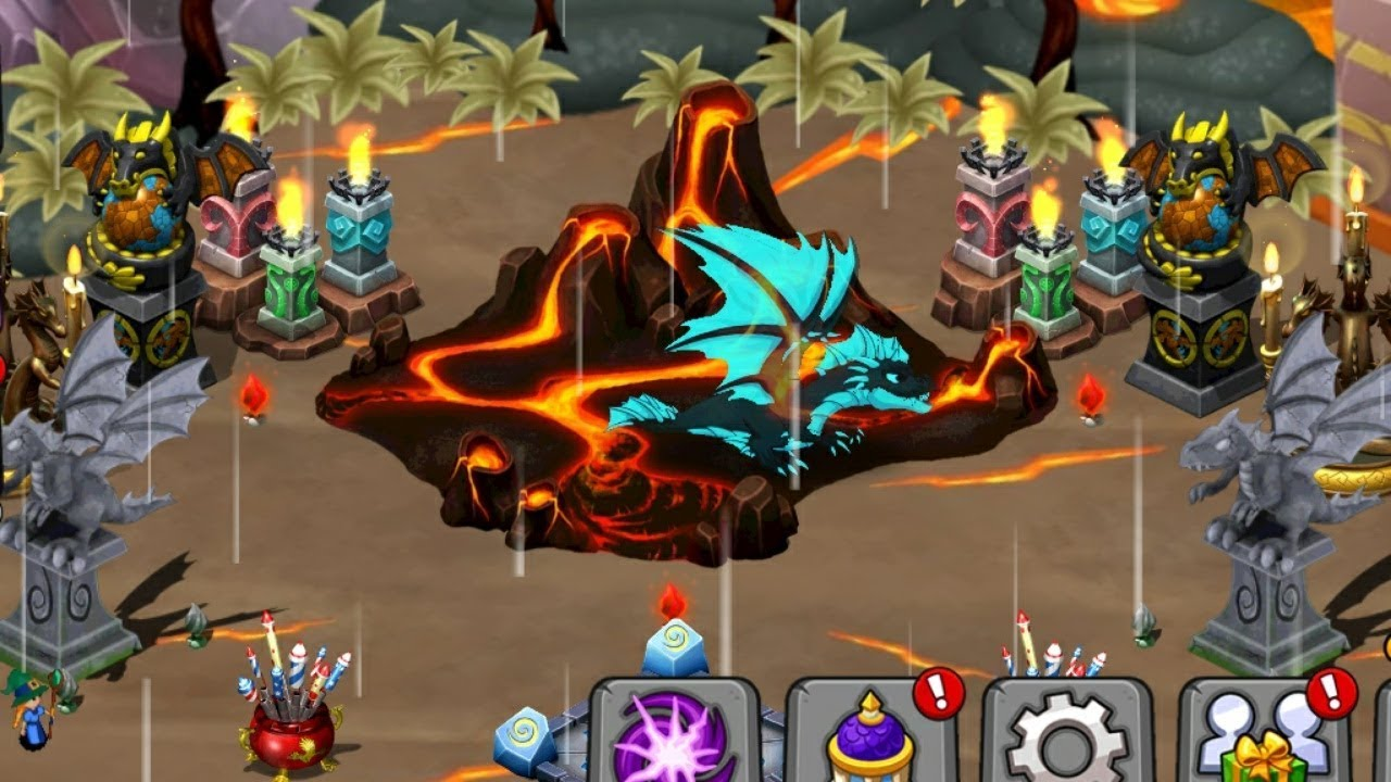 Effigy Of The Flame Dragonvale Ghostly Dragon Youtube