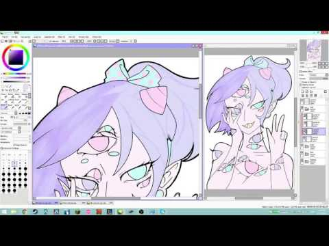 All Eyes on You ~Speedpaint~ /Pastel Guro/