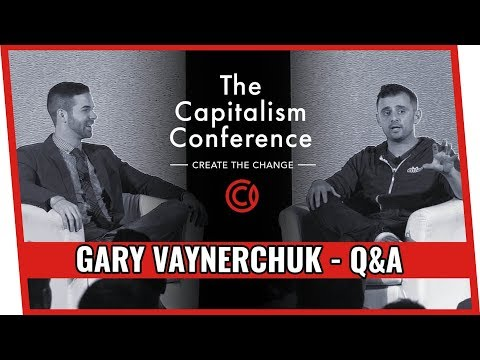 Gary Vaynerchuk at The Capitalism Conference - Q&A with Ryan Moran