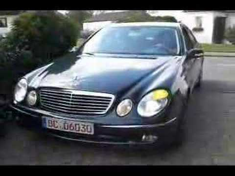 mercedes benz e 400 cdi w211 exterior ii youtube. Black Bedroom Furniture Sets. Home Design Ideas
