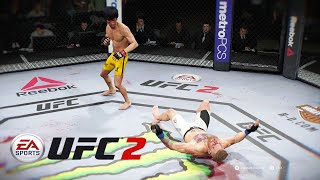 UFC 2 Bruce Lee | Bloody Knockouts Greatest Fights