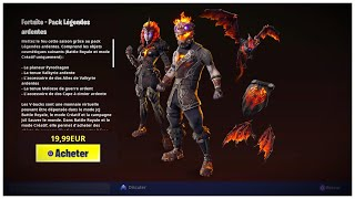 "HOW TO PACK ""LEGENDE ARDENTE"" FREE ON FORTNITE!"