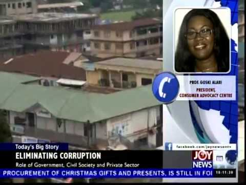 Eliminating Corruption - Today's Big Story (9-12-14)