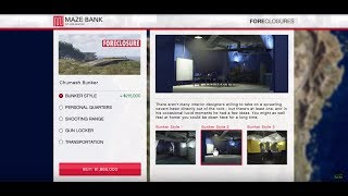 GTA 5 Gunrunning DLC (Bunker Purchase and Tour)