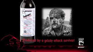 The only Bear Spray produced by a grizzly bear attack survivor! UDAP Pepper Power.