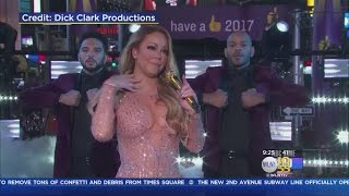 Performance Problems Prompt Early New Year's Exit For Mariah Carey