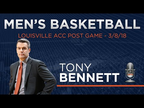 MEN'S BASKETBALL: ACC Quarterfinals - Tony Bennett Post Game