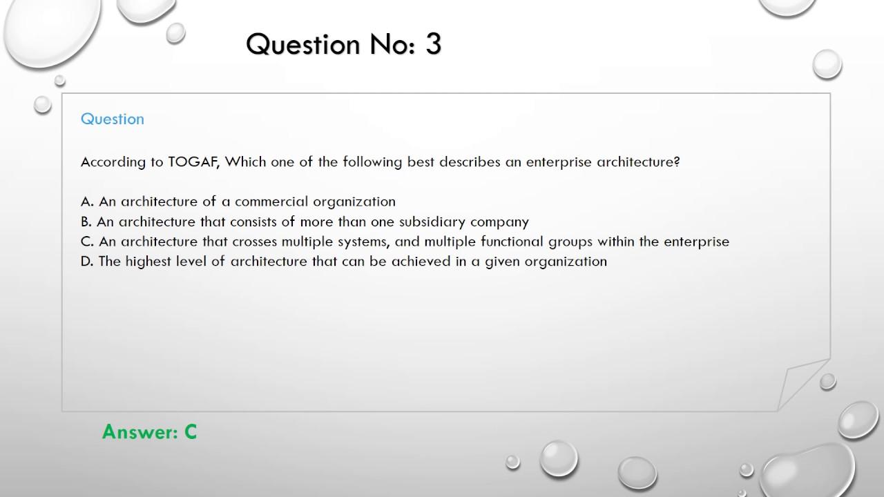 Togaf exam questions youtube togaf exam questions 1betcityfo Choice Image