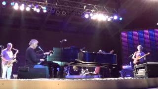 Bruce Hornsby - August 24, 2013 - White Wheeled Limousine