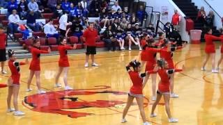 kvhs cheerleaders advanced dance 2013 2