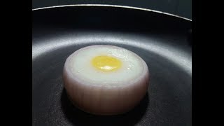 Bulls Eye Rings.. My Style // Easy and Variety cooking // Egg Special