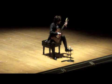 N. Paganini Caprice in A , Op. 1/5 (Celil Refik Kaya, guitar)