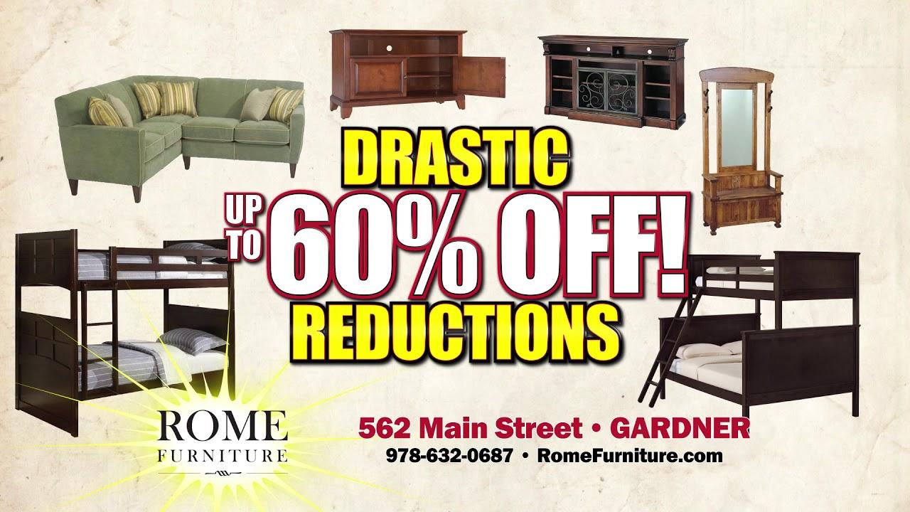Rome Furniture   Retirement Sale