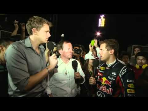 BBC Forum Seb Vettel Post race discussion from Japan after clinching 2nd world drivers title.mp4