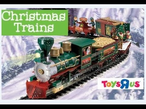 ALL CHRISTMAS TRAINS - NORTH POLE EXPRESS - SILVERADO ETC - TOYS R US - EZTEC - TOYS FOR KIDS Tots