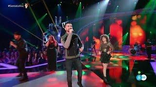 """Juanes con Equipo Carrasco: """"Fuego"""" – Segundo Directo - La Voz 2016"""