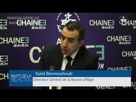 Yazid Benmouhoub, Directeur Général de la Bourse d'Alger