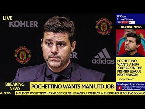 POCHETTINO TO MAN UTD: HE WANTS THE JOB