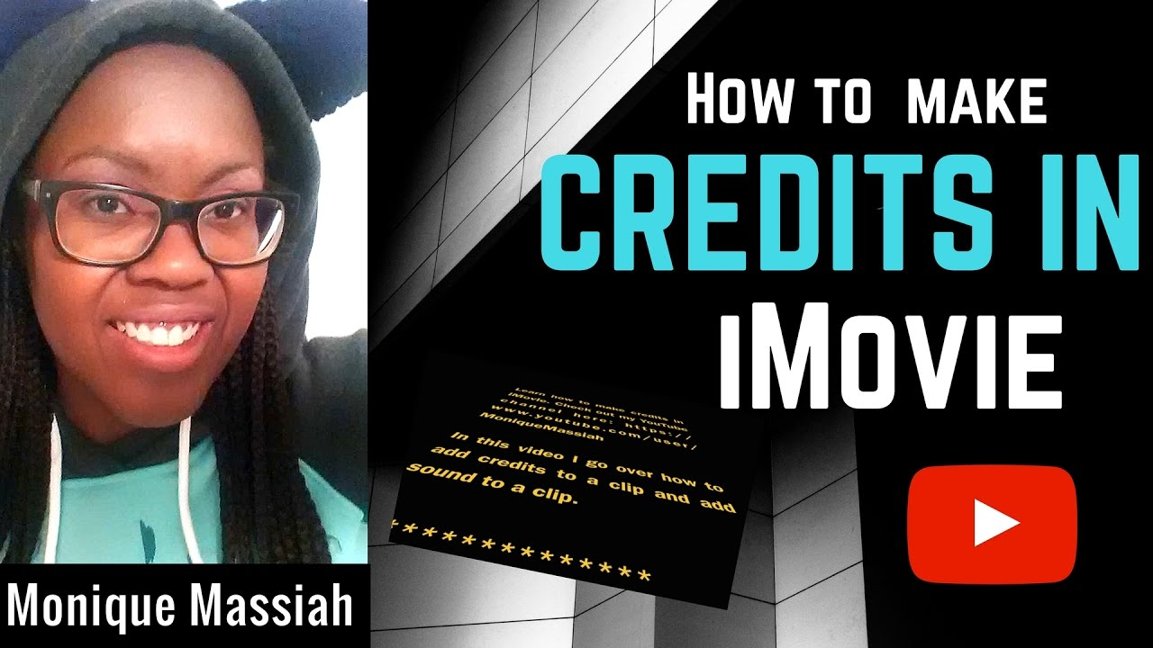 How to make credits in iMovie