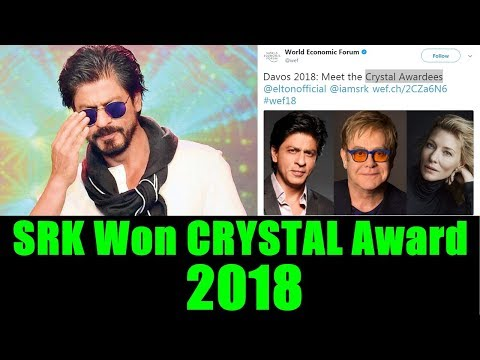 SRK Won Crystal Award For 2018