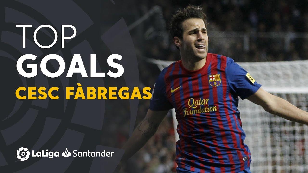 Cesc Fàbregas: Golazos con el FC Barcelona en LaLiga Santander