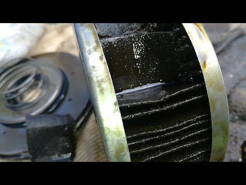 Веста 2019. ТО 0 2800 км. После обкатки вскрываю заводской фильтр, смотрим осадок в моторном масле