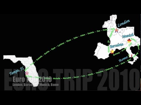 Euro Trip 2010- The University of Tampa