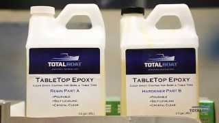 How to Apply Clear TableTop Epoxy by TotalBoat
