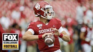 Joel Klatt breaks down Spencer Rattler's first start for Oklahoma | BREAKING THE HUDDLE | CFB ON FOX