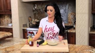 Banana Cucumber Honey Lemon And Lavender Calming Mask!! Beauty Kitchen!!!!!