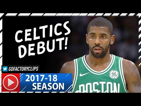Kyrie Irving Full Highlights vs Cavaliers (2017.10.17) - 22 Pts, 10 Ast, Celtics Debut!
